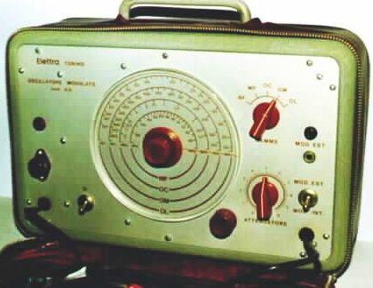 oscillatore modulato  412 -1960